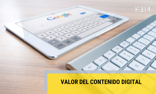 Valor del contenido digital-First by Mobile