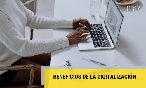 Beneficios de la digitalización de productos y servicios