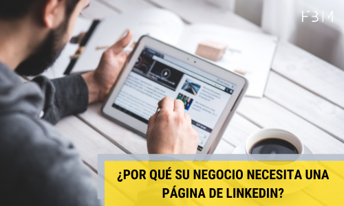 Linkedin para empresas-First by Mobile